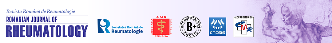 Romanian Journal of Rheumatology Logo